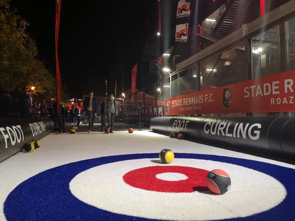 foot curling